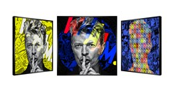 Wham Bowie by Patrick Rubinstein - Kinetic sized 43x43 inches. Available from Whitewall Galleries